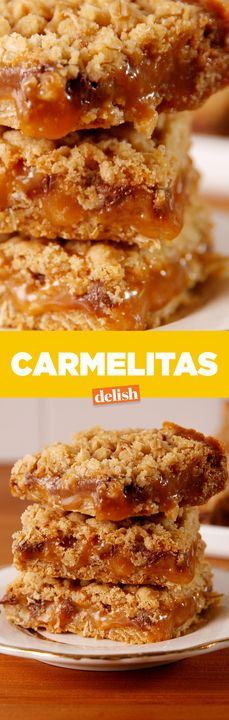 These Carmelitas make chocolate chip cookies look like amateur hour. Get the recipe from Delish.com.