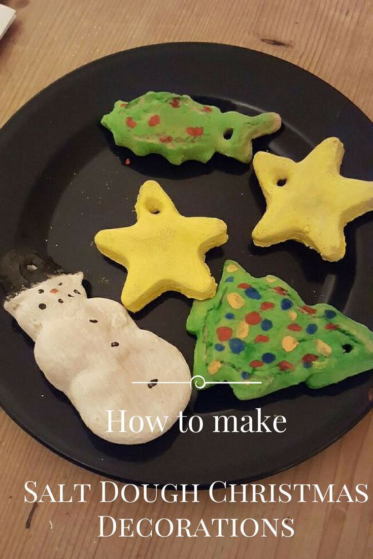 To find out how we made these salt dough Christmas tree decorations take a look at my blog. Perfect activity for the children at Christmas time!
