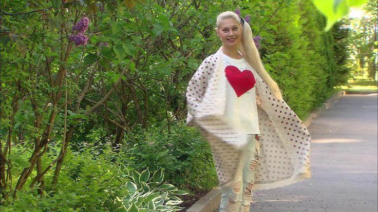 Вместе с Ольгой Никишичевой вы можете сшить практичный и очень красивый кардиган изо льна.