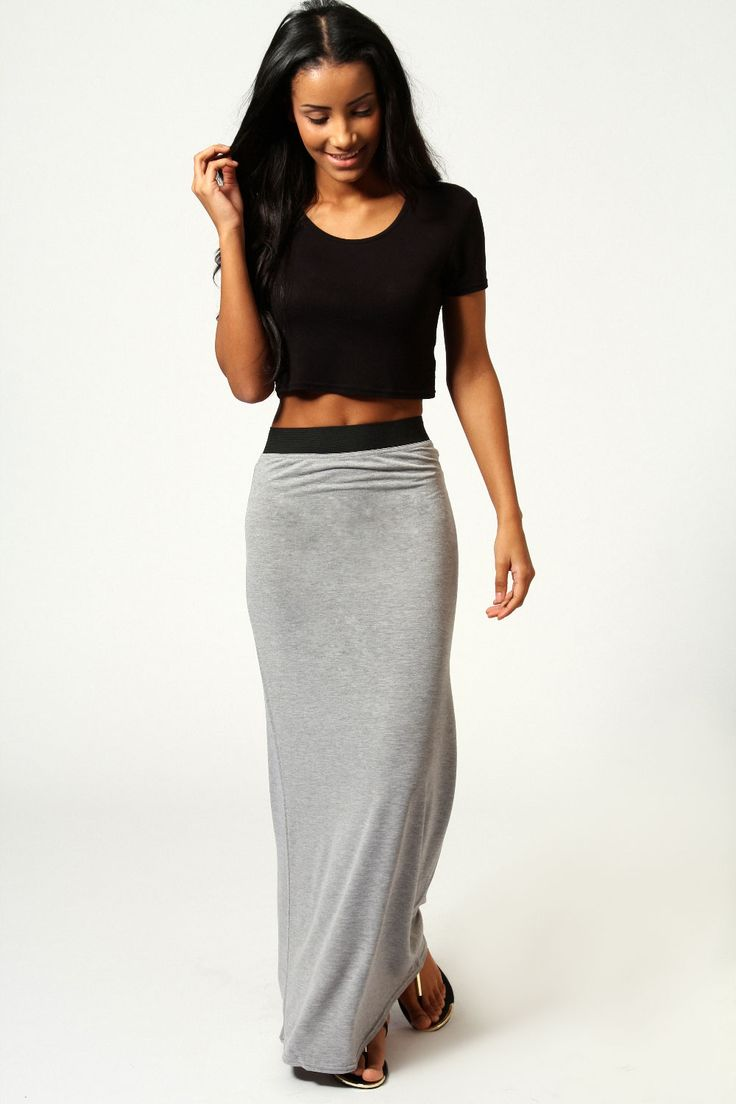 Best 25  Jersey maxi skirts ideas on Pinterest | White converse ...