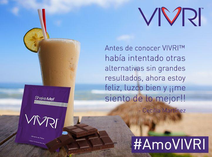 #Testimonio #VIVRI..Adquiere tu reto en www.vivri.com/analuisa. Envios a toda la Republica