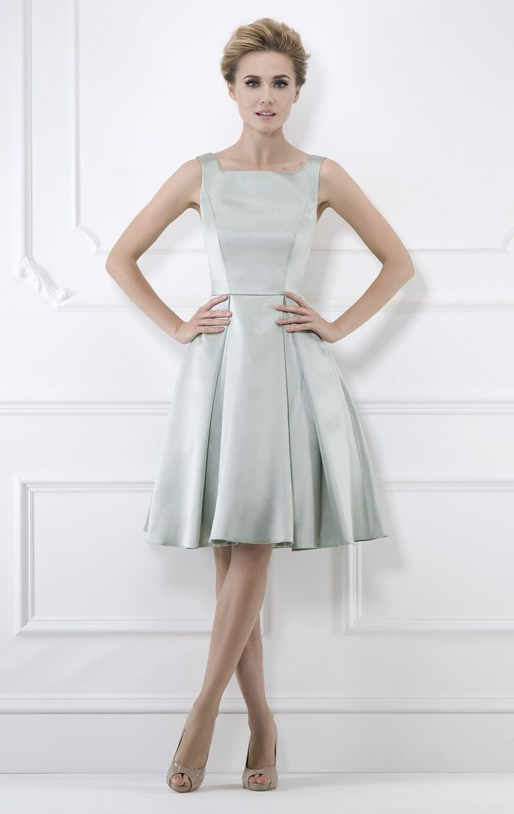 grande-silver-coloured-bridesmaid-dresses-