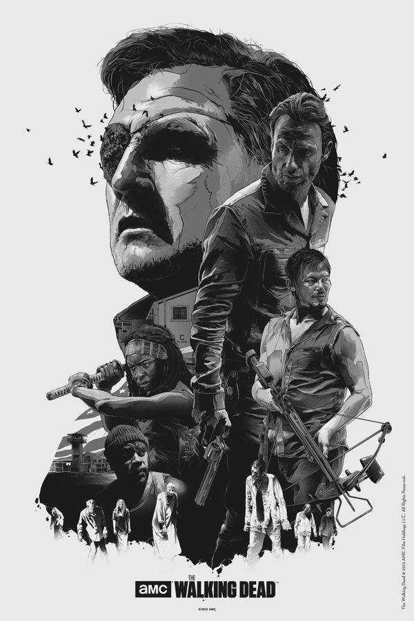 The Walking Dead by Grzegorz Domaradzki, via Behance