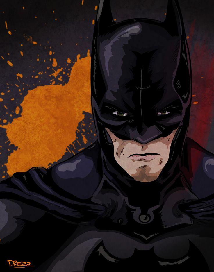 Batman (Christian Bale)  - by Drezz Rodriguez, 2017.