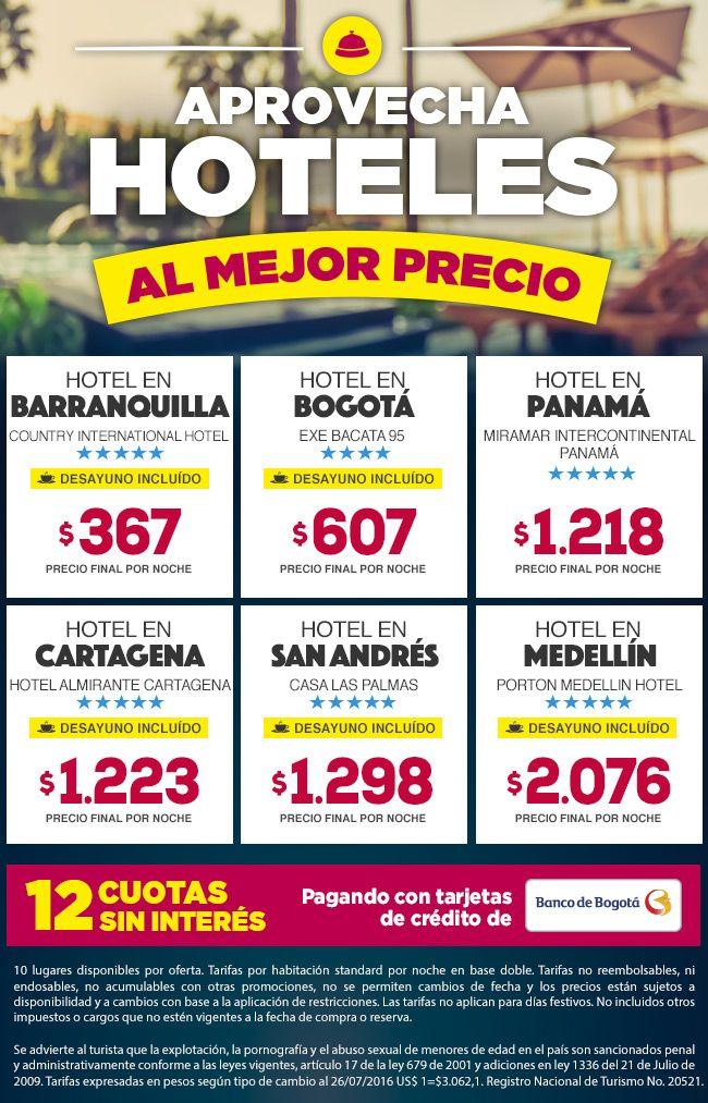 Los mejores hoteles y precios con @grupoavicionyturismo #CalidadyEficienciaATuServicio