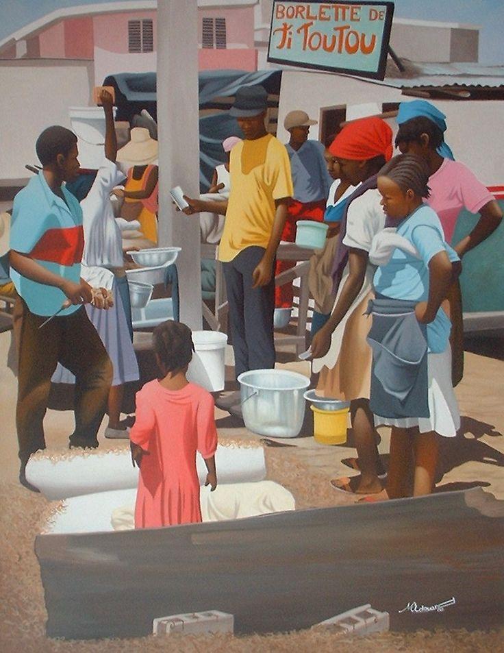 Market Scene | Michelet Edouard