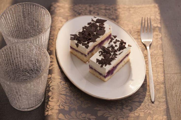 Čučoriedkový koláč | Recepty.sk