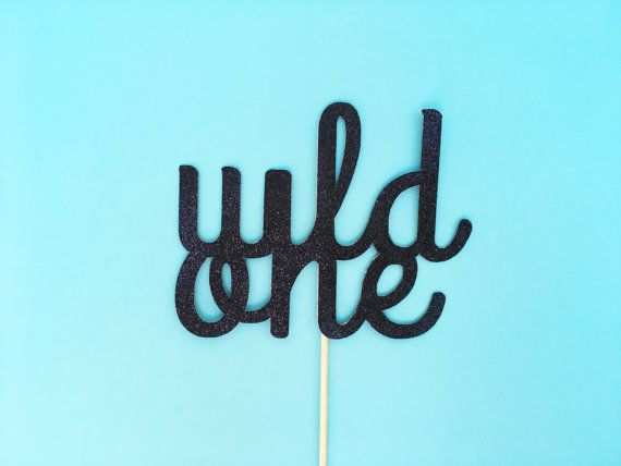 Celebrate your little wild one with this double sided cake topper!  ▬▬▬▬▬▬▬▬▬▬▬▬▬▬▬▬▬▬▬▬▬▬▬▬▬▬▬▬▬▬▬▬▬▬▬▬ LISTING DETAILS