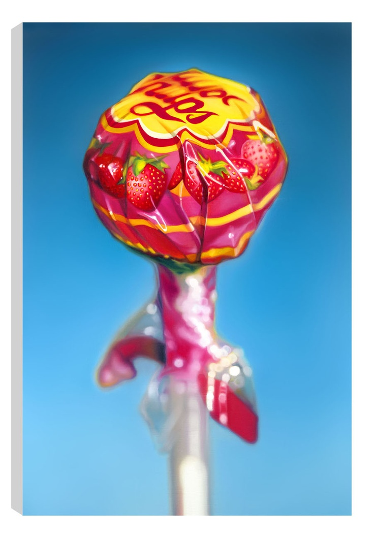 Lollipop, by Sarah Graham #art #ChupaChup #sweets