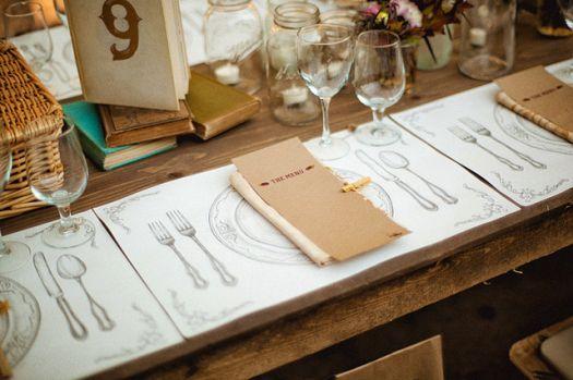 Rustikale Elemente für Ihre Hochzeitsdekoration [Fotos]