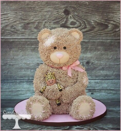 Download Teddy Bear With Cake Images : 17 Best images about CUTE CAKES on Pinterest Tea parties ...