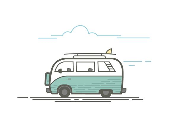 Line Drawing Van : Best vector images on pinterest posters digital
