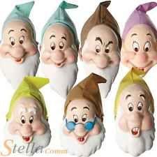 Official Disney Seven Dwarfs Masks Adult Snow White Fancy Dress Accessory