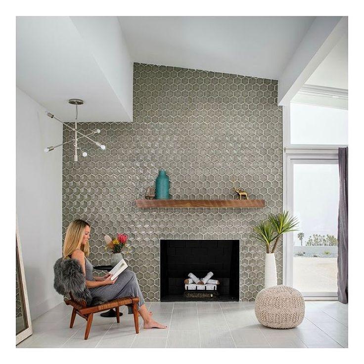 Best 25+ Mid century modern fireplace makeover ideas on