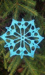 Winter Aconite Snowflake