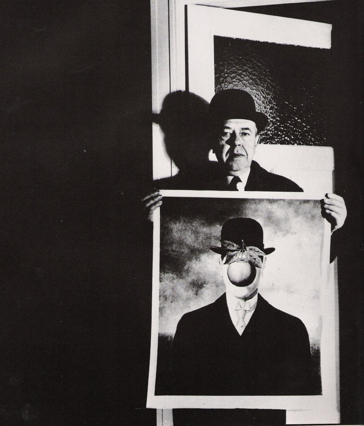 René Magritte, 1963 by Bill Brandt
