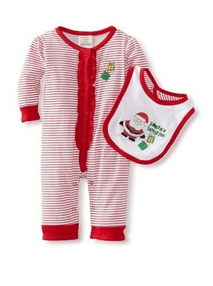 33% OFF Absorba Baby Loungewear Coverall (Red Stripe)
