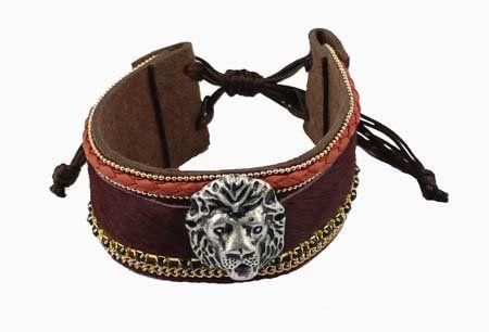 Armband met Leeuw-wapen #fashionaccessories #sieraden #mode #groothandel