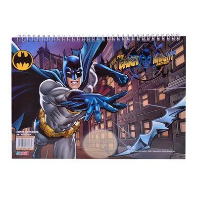 Μπλοκ Ζωγραφικής Α4 BATMAN 40 Φύλλων < Απλά