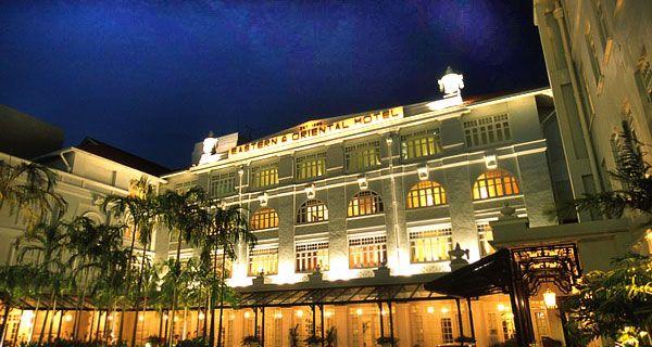 The E & O Hotel in Penang, Malaysia