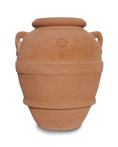 Vaso da giardino, orcio classico in terracotta artigianale h 40 cm  $105