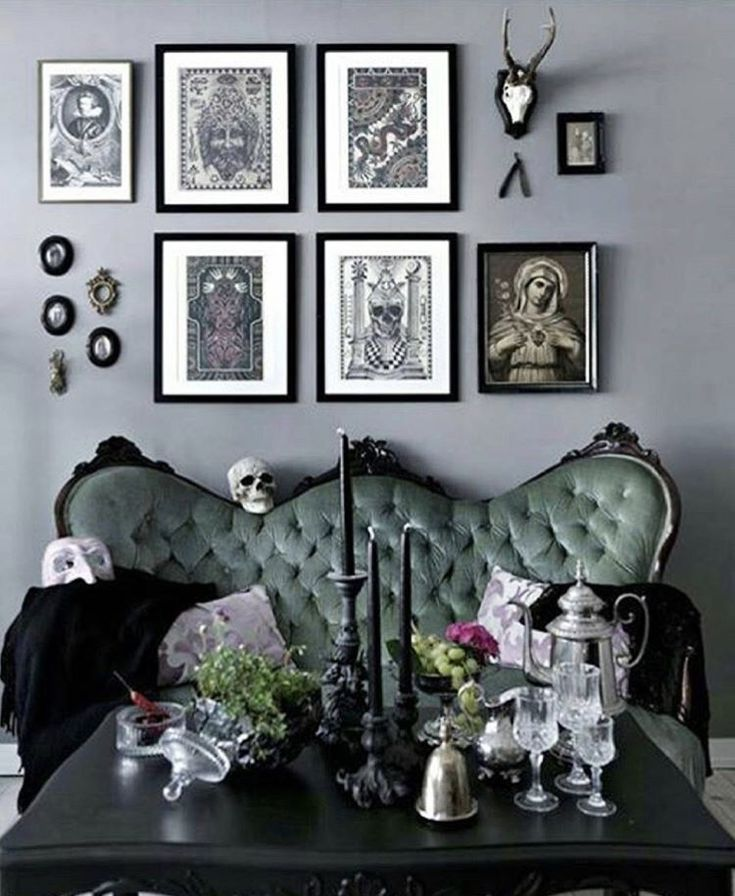 beautiful classic but gothic - Fantastisch Wandgestaltung Gothic