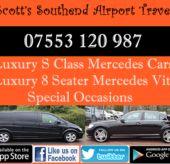 Scott's Rayleigh Taxis To Heathrow