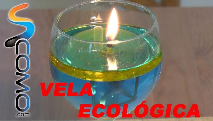 Hacer una vela con agua y aceite 1 2 3 pinterest velas agua y experimentos caseros - Velas de agua ...