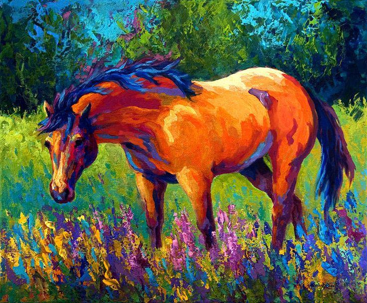 Dun Mare Horse Art Art Horses