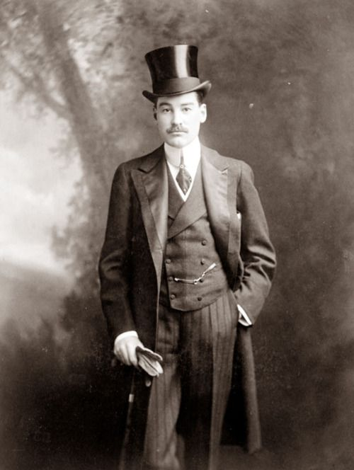 Alfred Vanderbilt c.1907  Lost his life in the Titanic sinking.