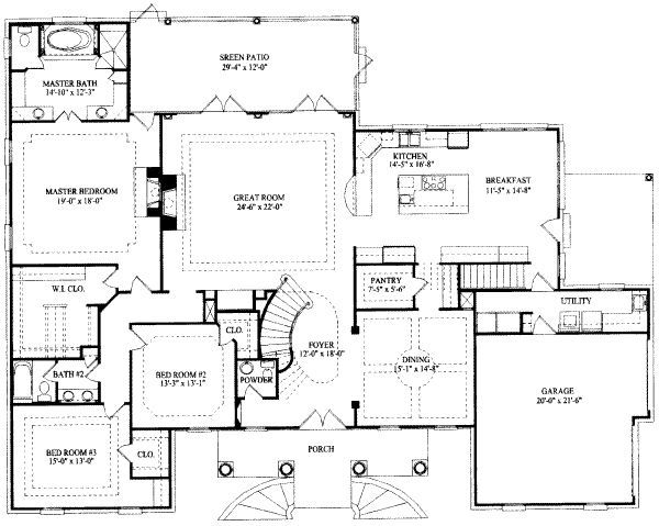 7 Bedroom House Plans | Louieand.co