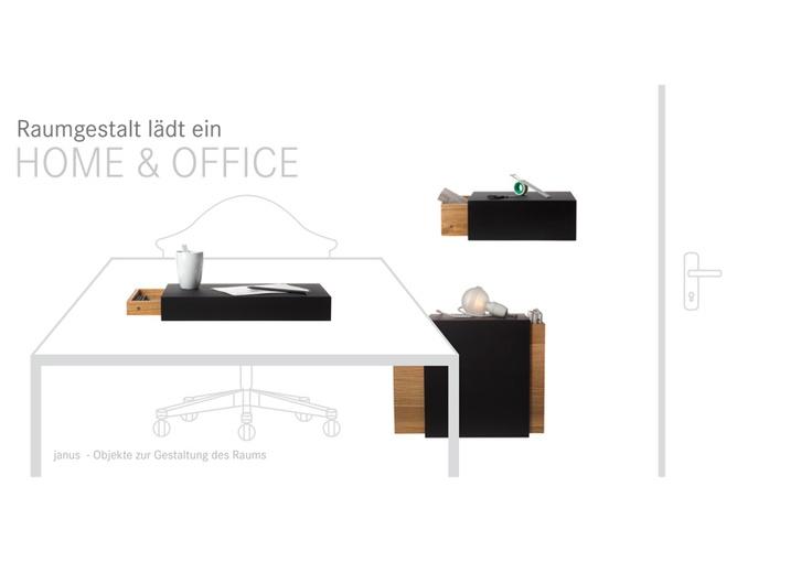 IANUS family objects. Design Paolo Fontana for Raumgestalt