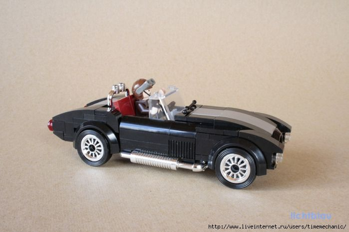 Российский Фан Форум Lego: Спортивный автомобиль Шелби Кобра…