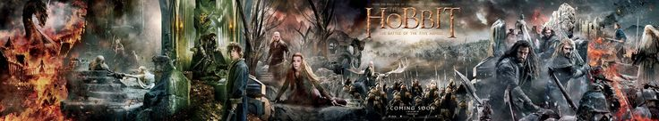 "MegaPoster ""The Hobbit: The Battle of the Five Armies"""