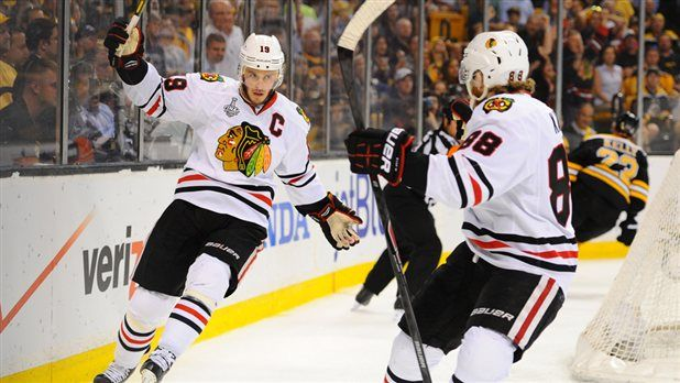 Chicago Blackhawks win NHL Championship in Game 6 of Stanley Cup Finals  (Photo: Getty Images) #Hockey