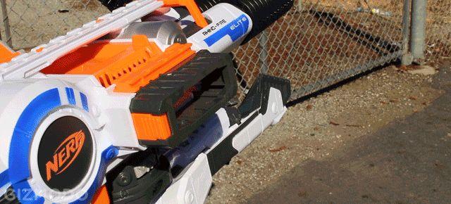 Nerf Rhino-Fire Review: The Most Badass Foam Blaster Ever Built