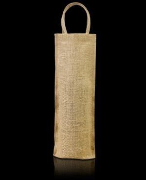 El modelo Russia es una mezcla de funda y bolsa, se suele utilizar para botella y está fabricada en tela de arpillera