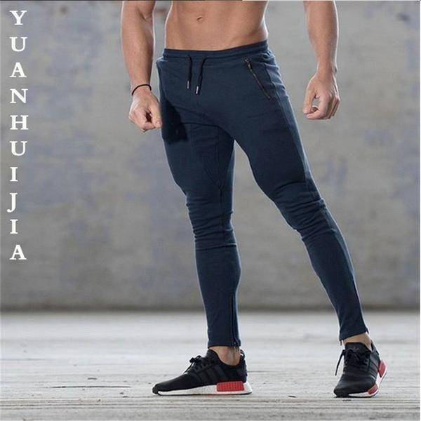 Mens Casual Gym Sport Joggers Slack Training Sweat Pants Jogging Trousers Pants