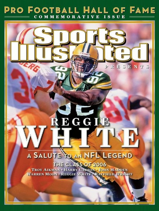 Reggie White. One of the greats!: July 26, Reggie White, Sports Illustrations, Hall Of Fame, Greenbay Packers, Pro Football, Green Bays Packers, Football Hall, Illustrations Pro