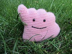Pokédex # 132  Ditto #pokemon #amigurumi