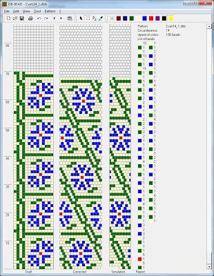 Free Crochet Bead Pattern Round 14