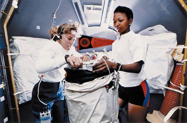Female astronauts