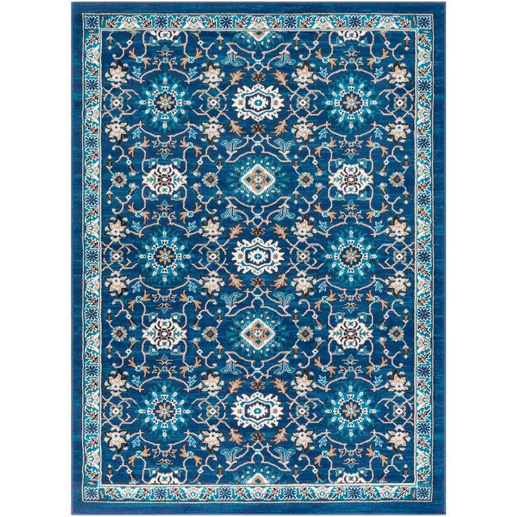 Artistic weavers elias navy 7 ft 10 in x 10 ft 3 in