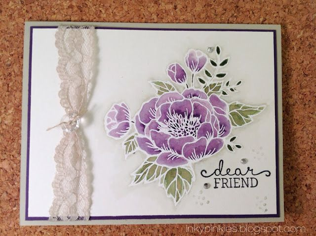 Birthday Blooms in Watercolor HSS229. Stampin up occasions mini spring 2016