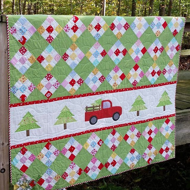 The WINNERS of my Christmas Memories pdf quilt pattern....@cutiepinwheel and @traceyquilts dm me your email addresses so...