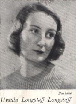 Ursula's engagement photograph