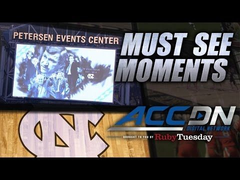 UNC Unveils Patch to Honor Dean Smith in Pitt Game | ACC Must See Moment