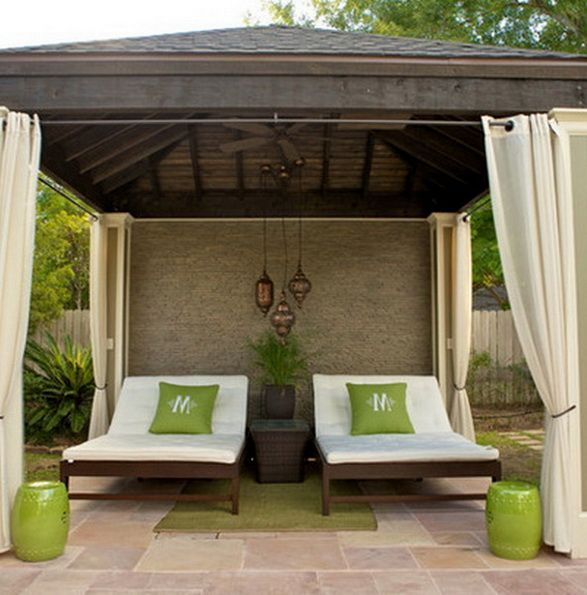 patio ideas for backyard.  Visit poolcoolers.com for more info on our  ready-made, easy to install pool cooling systems!