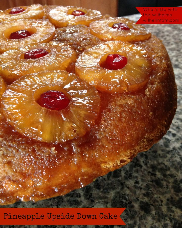 Sharing my great-grandma's pineapple upside down cake recipe