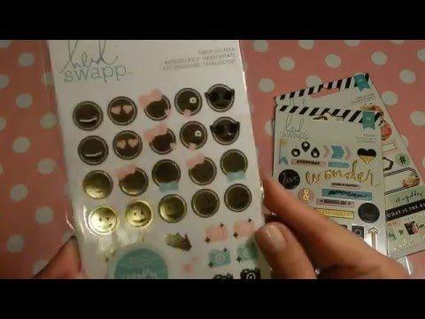 Kijk hier welke leuke Heidi Swapp stickers, notepads, tabbladen en nog veel meer goodies ik heb gekocht!